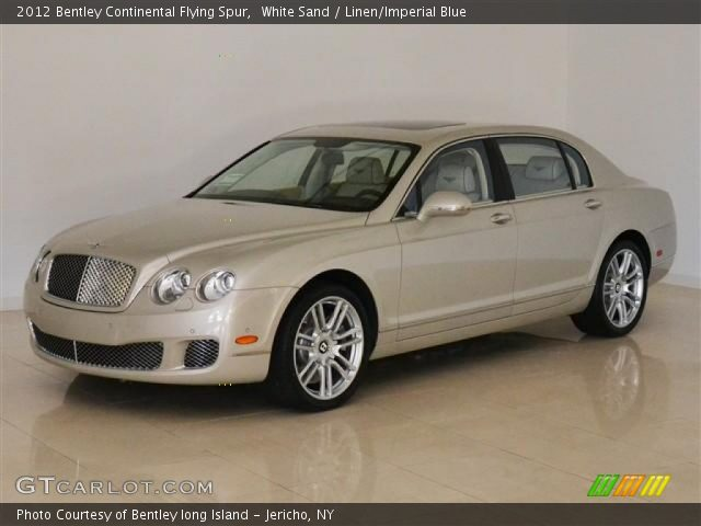 2012 Bentley Continental Flying Spur  in White Sand