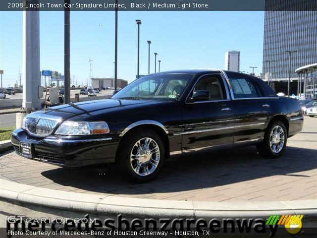 black 2008 lincoln town car signature limited medium. Black Bedroom Furniture Sets. Home Design Ideas