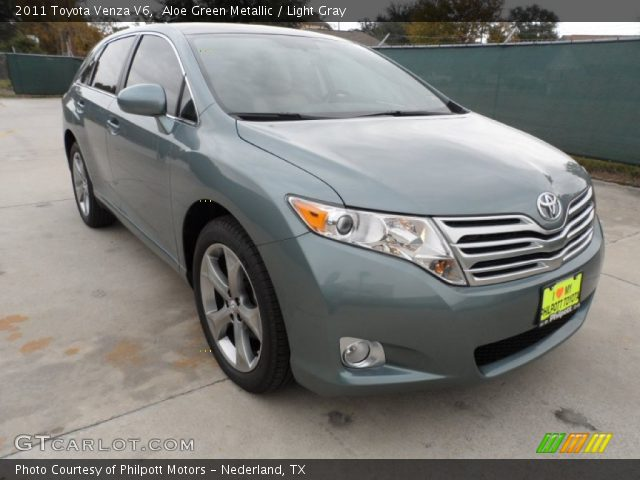aloe green metallic 2011 toyota venza v6 light gray. Black Bedroom Furniture Sets. Home Design Ideas