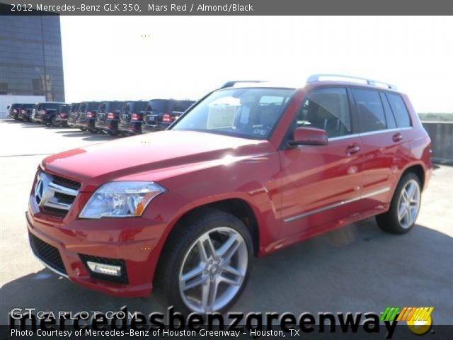 Mars Red 2012 Mercedes Benz Glk 350 Almond Black
