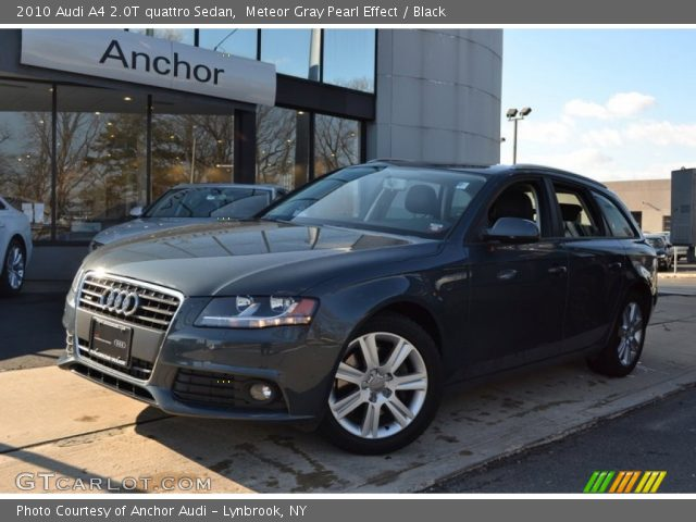 2010 Audi A4 2.0T quattro Sedan in Meteor Gray Pearl Effect