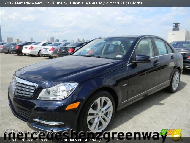 2012 Mercedes-Benz C 250 Luxury in Lunar Blue Metallic