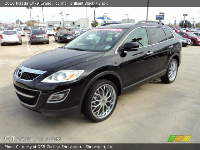 brilliant black 2010 mazda cx 9 grand touring black. Black Bedroom Furniture Sets. Home Design Ideas