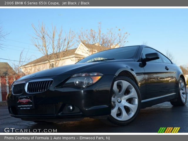 2010 Bmw 650i >> Jet Black - 2006 BMW 6 Series 650i Coupe - Black Interior | GTCarLot.com - Vehicle Archive #57788185
