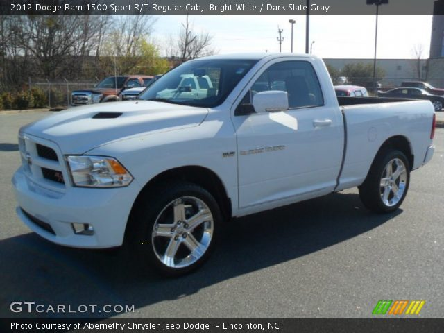 2012 Dodge Ram 1500 Sport R/T Regular Cab in Bright White