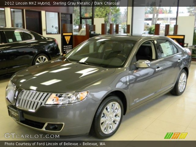 sterling gray metallic 2012 lincoln mkz hybrid dark. Black Bedroom Furniture Sets. Home Design Ideas