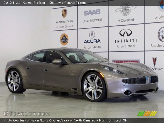 2012 Fisker Karma EcoSport in Shadow