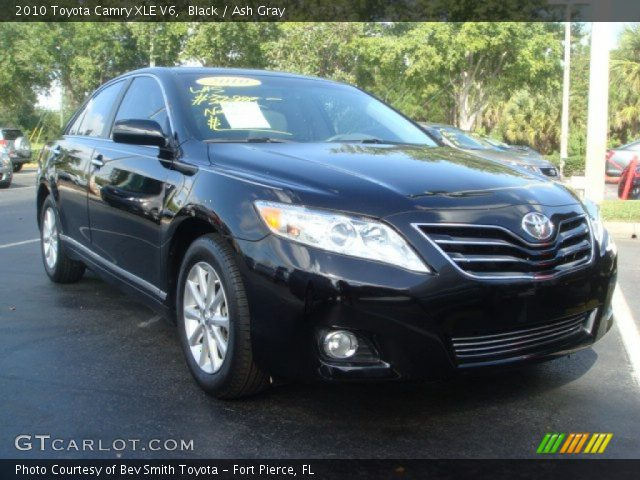black 2010 toyota camry xle v6 ash gray interior vehicle archive 57873473. Black Bedroom Furniture Sets. Home Design Ideas