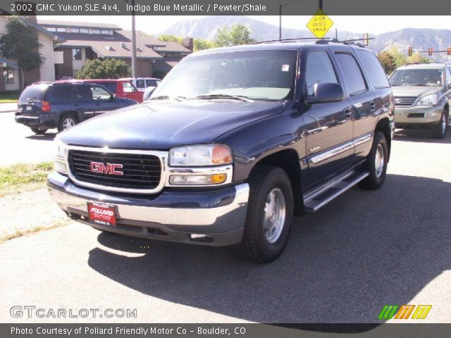 2002 GMC Yukon SLE 4x4 in Indigo Blue Metallic