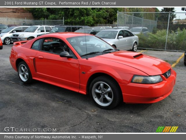 performance red 2001 ford mustang gt coupe dark. Black Bedroom Furniture Sets. Home Design Ideas