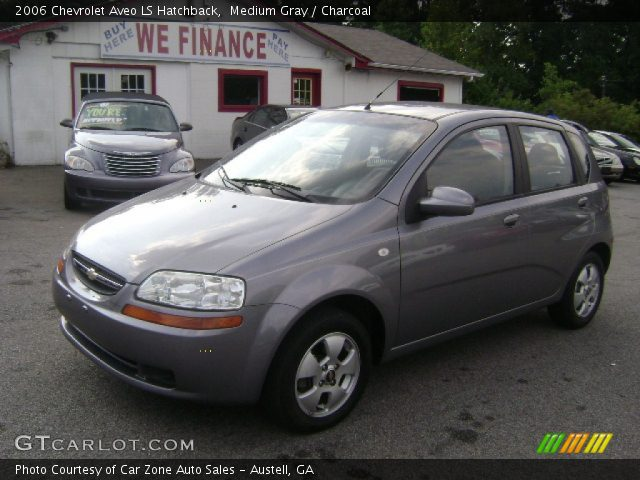 medium gray 2006 chevrolet aveo ls hatchback charcoal. Black Bedroom Furniture Sets. Home Design Ideas