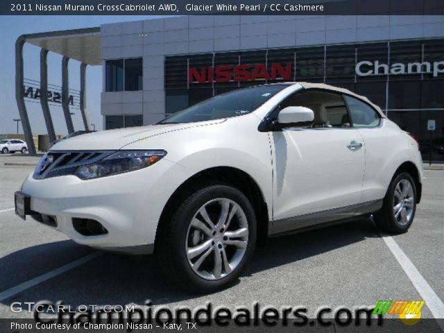 2011 Nissan Murano CrossCabriolet AWD in Glacier White Pearl