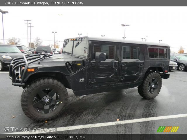 2002 Hummer H1 Wagon in Black