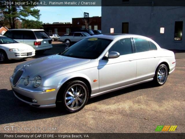 2004 jaguar s type 4 2 in platinum metallic click to see large photo. Black Bedroom Furniture Sets. Home Design Ideas