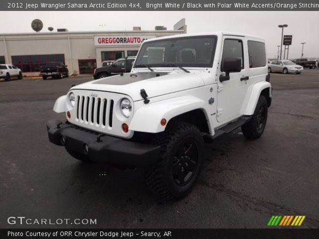2012 Jeep Wrangler Sahara Arctic Edition 4x4 in Bright White
