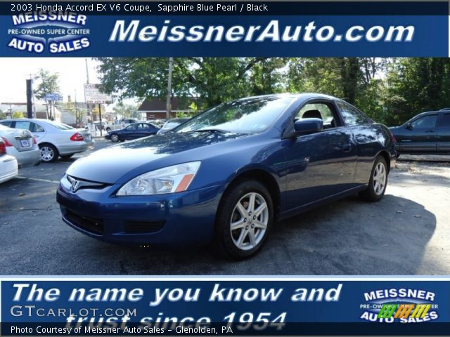 Honda accord 2003 coupe blue
