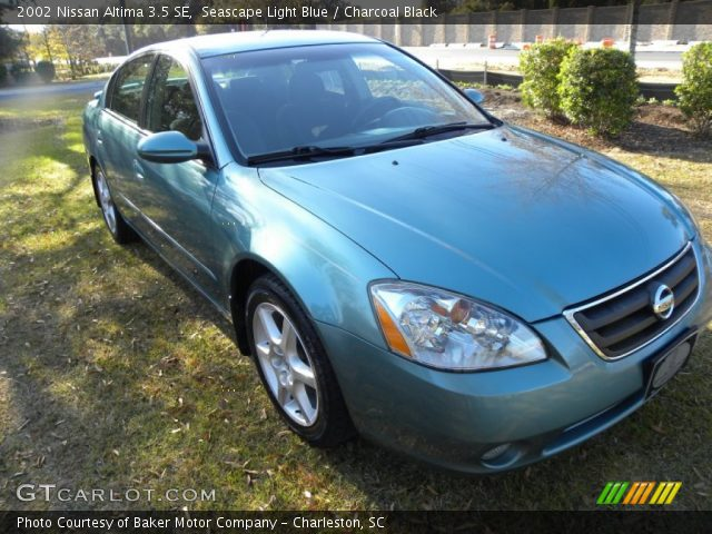 seascape light blue 2002 nissan altima 3 5 se charcoal. Black Bedroom Furniture Sets. Home Design Ideas