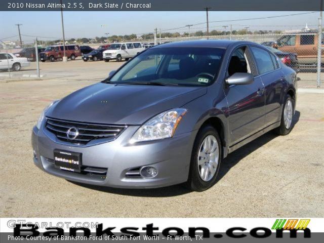Dark Slate 2010 Nissan Altima 2 5 S Charcoal Interior Vehicle Archive 57872207
