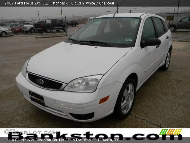 cloud 9 white 2007 ford focus zx5 ses hatchback. Black Bedroom Furniture Sets. Home Design Ideas