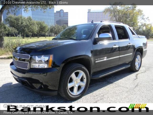 black 2010 chevrolet avalanche ltz ebony interior vehicle archive 57872145. Black Bedroom Furniture Sets. Home Design Ideas