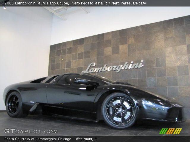 Nero Pegaso Metallic 2003 Lamborghini Murcielago Coupe Nero