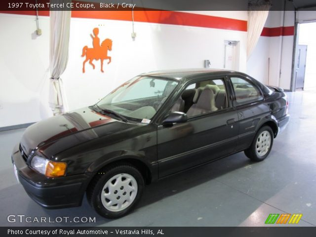 1997 Toyota Tercel CE Coupe in Black