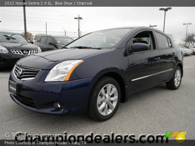 blue onyx 2012 nissan sentra 2 0 sl charcoal interior. Black Bedroom Furniture Sets. Home Design Ideas