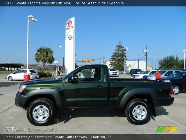 2012 Toyota Tacoma Regular Cab 4x4 in Spruce Green Mica