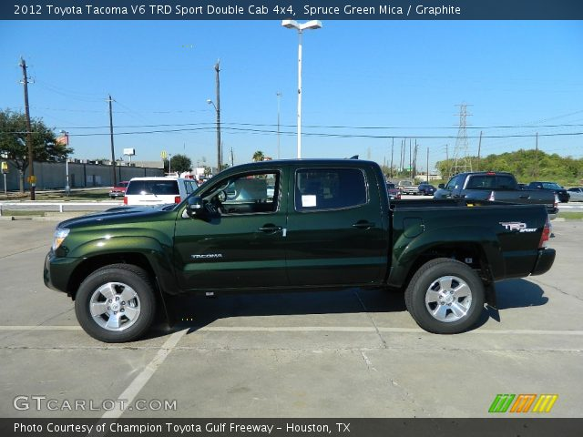 2012 Toyota Tacoma V6 TRD Sport Double Cab 4x4 in Spruce Green Mica