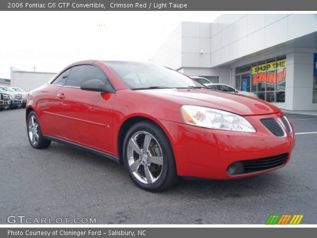 crimson red 2006 pontiac g6 gtp convertible light. Black Bedroom Furniture Sets. Home Design Ideas