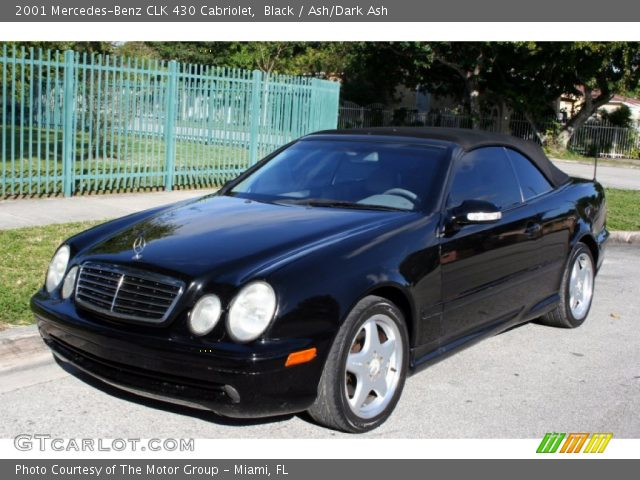 Black 2001 mercedes benz clk 430 cabriolet ash dark for 2001 mercedes benz clk430