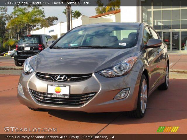2012 Hyundai Elantra GLS in Desert Bronze