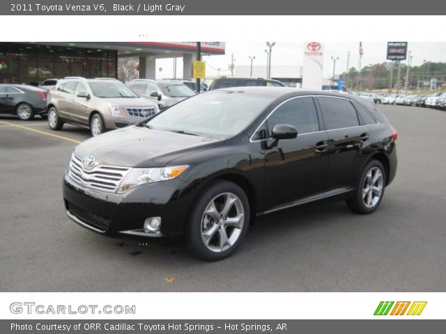 black 2011 toyota venza v6 light gray interior. Black Bedroom Furniture Sets. Home Design Ideas