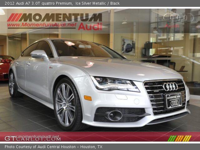 2012 Audi A7 3.0T quattro Premium in Ice Silver Metallic