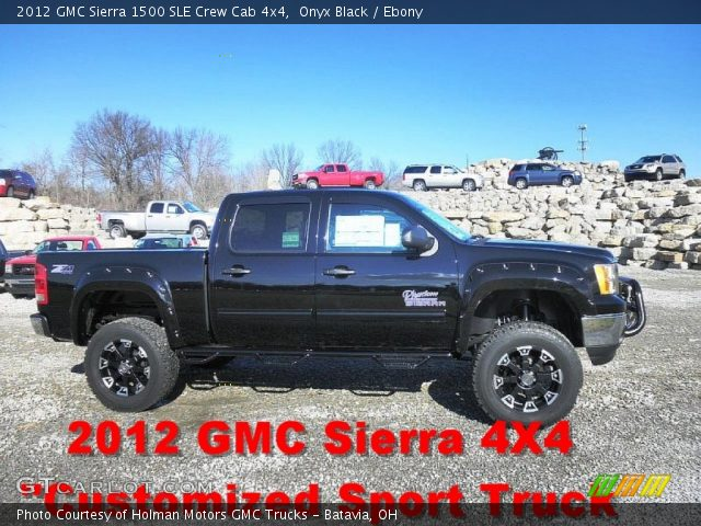 2012 GMC Sierra 1500 SLE Crew Cab 4x4 in Onyx Black