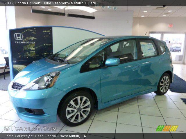 2012 Honda Fit Sport in Blue Raspberry Metallic