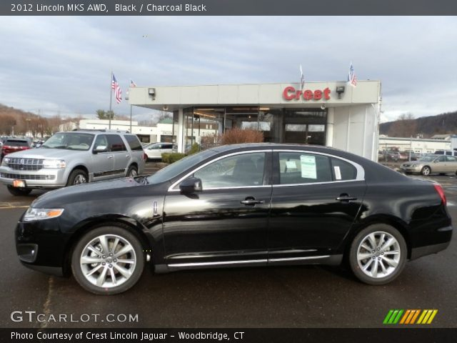 2012 Lincoln MKS AWD in Black
