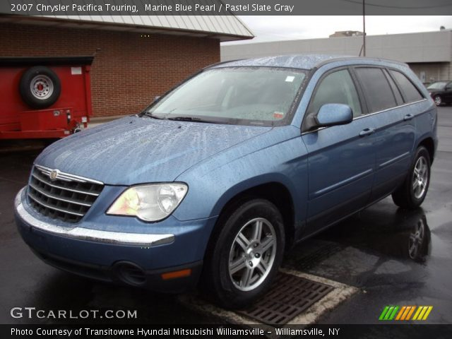marine blue pearl 2007 chrysler pacifica touring. Black Bedroom Furniture Sets. Home Design Ideas