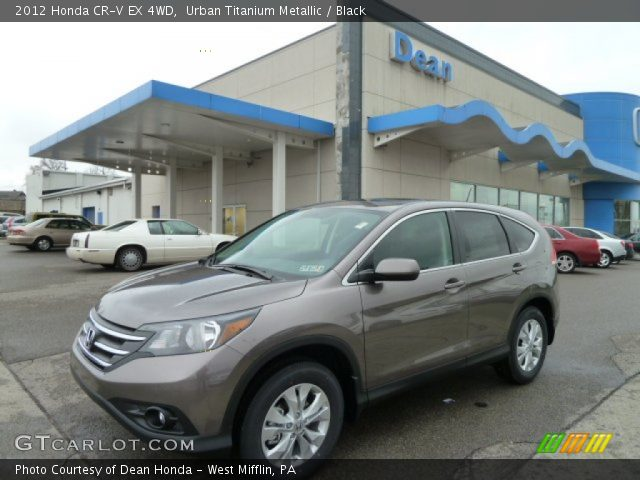 2012 Honda CR-V EX 4WD in Urban Titanium Metallic