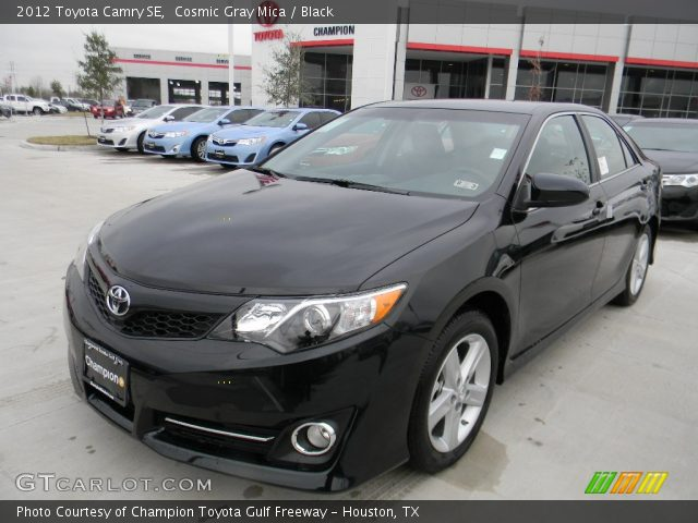 2012 Toyota Camry SE in Cosmic Gray Mica