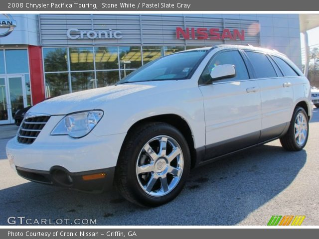 stone white 2008 chrysler pacifica touring pastel. Black Bedroom Furniture Sets. Home Design Ideas