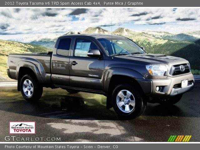 2012 Toyota Tacoma V6 TRD Sport Access Cab 4x4 in Pyrite Mica