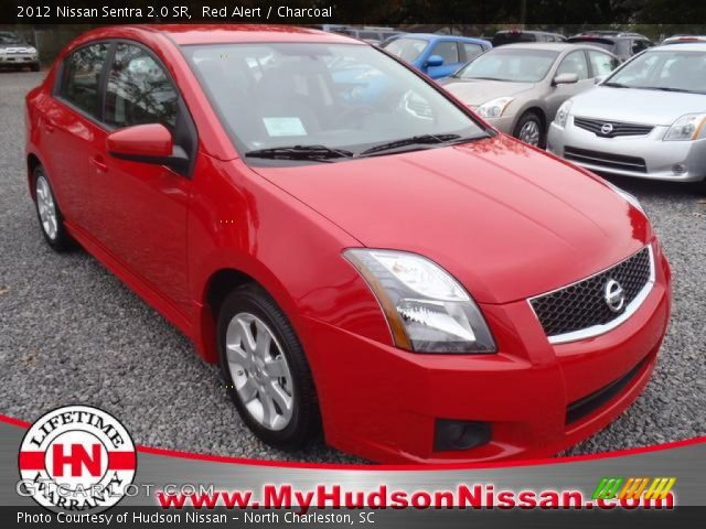 red alert 2012 nissan sentra 2 0 sr charcoal interior vehicle archive 58782079. Black Bedroom Furniture Sets. Home Design Ideas