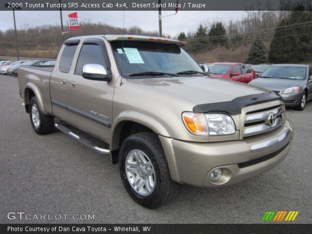 desert sand mica 2006 toyota tundra sr5 access cab 4x4 taupe interior. Black Bedroom Furniture Sets. Home Design Ideas