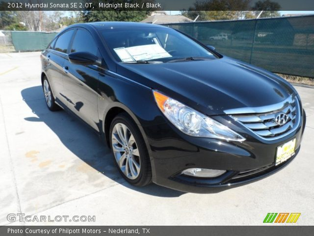 midnight black 2012 hyundai sonata se 2 0t black interior vehicle archive. Black Bedroom Furniture Sets. Home Design Ideas