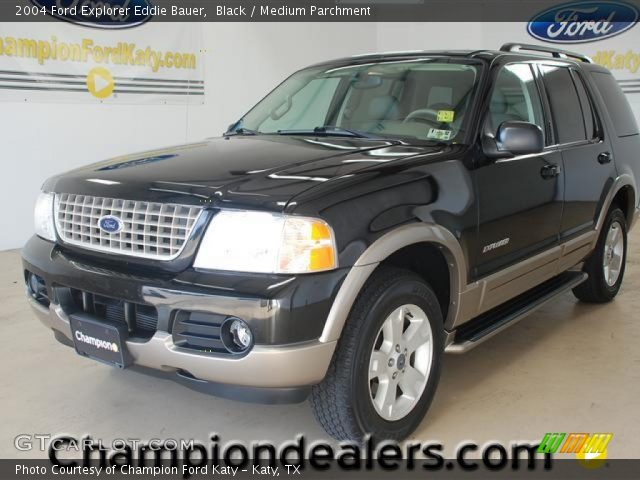 Black - 2004 Ford Explorer Eddie Bauer