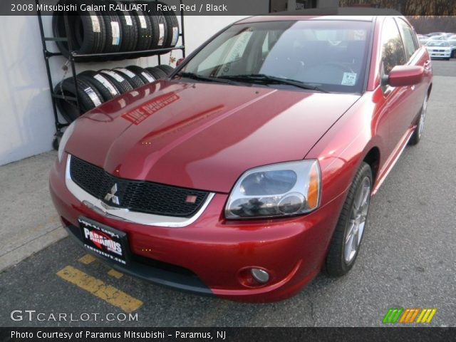 2008 Mitsubishi Galant RALLIART in Rave Red