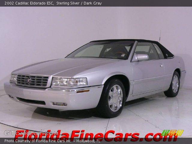 Sterling Silver 2002 Cadillac Eldorado Esc Dark Gray Interior Vehicle