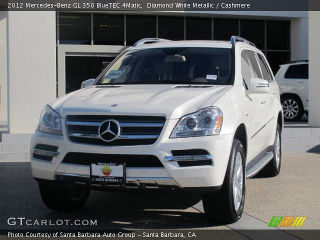 diamond white metallic 2012 mercedes benz gl 350 bluetec. Black Bedroom Furniture Sets. Home Design Ideas