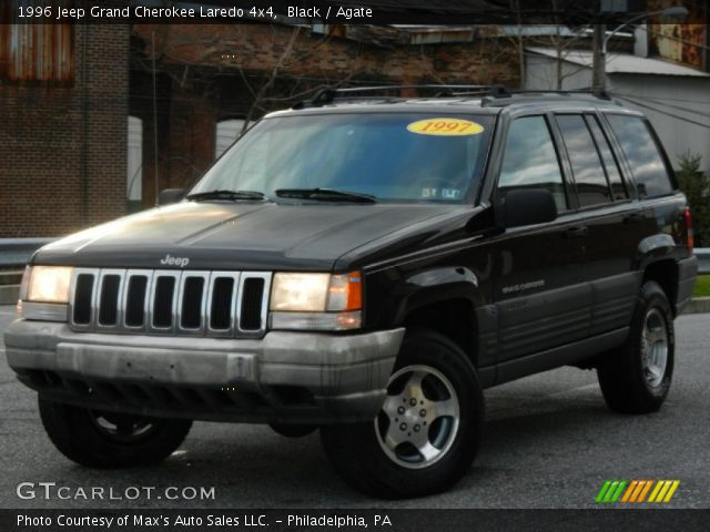 Black 1996 jeep grand cherokee laredo 4x4 agate - 1996 jeep grand cherokee interior ...